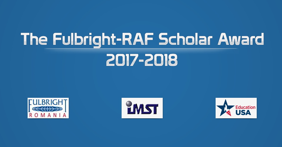 Burse Fulbright-RAF Scholar Award